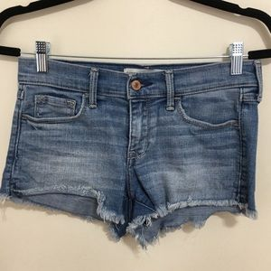 Abercrombie jeans shorts, size 4